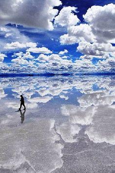 #Salar_de_Uyuni - World's Largest Mirrors #Salt_Lakes in Southwest #Bolivia http://en.directrooms.com/hotels/continent/2/
