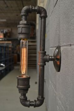 Steampunk-Wandlampe Wandleuchte Wandlampe Wandleuchte home Steampunk Sconce - Wall Sconce - Wall Light - Industrial Sconce - Sconce light - Industrial light - wall lighting - Sconce - Steampunk Light