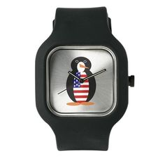 Penguin of the United States of America Watch on CafePress.com
