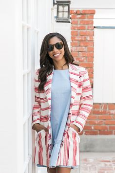 Chic office look featuring Paper Crown pieces