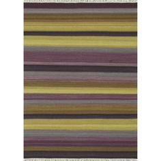 Zahra Hand Woven Violet Wool Rug (3'6 x 5'6) | Overstock.com Shopping - The Best Deals on 3x5 - 4x6 Rugs