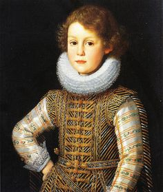 Portrait of Prince Mattias de' Medici by Justus Justus Sustermans (1597 – 1681)