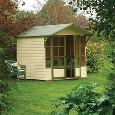 Rowlinson 9' x 7' Eaton Summer House - Traditional Summer Houses - Summer Houses