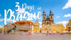 A step by step guide on how to tackle the city of Prague in just 3 days! Complete Prague itinerary with things to do, places to eat, and where to stay. Here is our insider guide on some of the best ways to spend the most amazing 3 days in Prague!