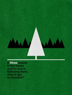 If @tree tweets in the forest... by David Schwen, via Flickr