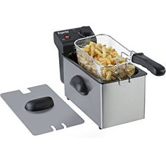 Elgento Deep Fat Fryer, L - Stainless Steel Cooking Appliances, Fat, Stainless Steel, Deep, Products, Kitchen Gadgets, Gadget