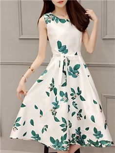 Ericdress Sweetheart Sleeveness Expansion Casual Dress Indian Designer Outfits, Designer Dresses, Dress Outfits, Fashion Dresses, Short Frocks, Frock For Women, Sunday Dress, Dress Sketches, Dress Hairstyles