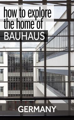 The Bauhaus movement of architecture and design had a huge impact on modern art. You can see where Bauhaus all started at these buildings in Weimar and Dessau. Together, they are one of the World Heritage Sites in Germany.