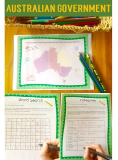 Australian Government, Elections and Laws Distance Learning Pack Social Studies Resources, School Resources, Teaching Resources, Teaching Ideas, Numeracy Activities, Literacy And Numeracy, Levels Of Government, Branches Of Government, Australia For Kids