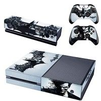 New Batman Designer Skin Sticker for the Xbox One Console With Two Wireless Controller Decals
