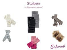 Warme und kuschelige #Stulpen für kalte Herbst- und Wintertage