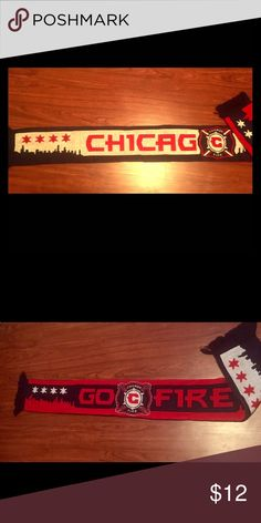 Chicago fire soccer scarf ⚽️ Scarf from Chicago fire Great condition cool design. Accessories Scarves