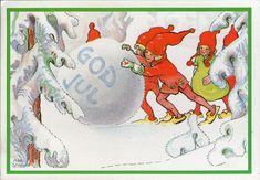 AK - Künstlerkarte - AINA STENBERG -  Gelaufen 1988 Schweden