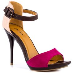 Quillan - Fuchsia  Promise Shoes ....yes, please!
