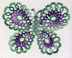 Lovely use of the two colours, especially like the sage green. Also a particually pretty butterfly pattern.