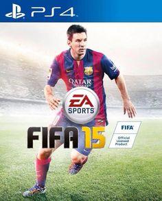 La Jaquette FIFA 15 avec...LIONEL MESSI - http://www.actusports.fr/112824/jaquette-fifa-15-lionel-messi/