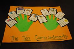 Social Skills/ThoughtfulObjectives:  * To listen to the story of Moses and the Ten Commandments  * To learn what the Ten Commandments are a...