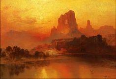 Thomas Moran The Golden Hour, 1875