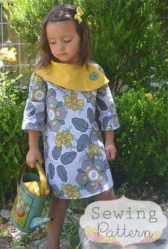 INSTANT DOWNLOAD - Rachel robe (taille 12/18 mois pour la taille 8) PDF Sewing Pattern et tutoriel
