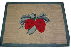 Hey, I found this really awesome Etsy listing at https://www.etsy.com/listing/78697541/fabulous-antique-american-hooked-rug
