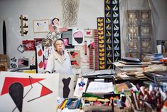 Geta Brătescu - 'I sing with my pens' In the studio with Geta Brătescu| Tate . Photo in her Bucharest studio, February 2015, photographed by Stefan Sava