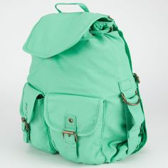 T-SHIRT & JEANS Mint Condition Backpack ($32) ❤ liked on Polyvore featuring bags, backpacks, mint, knapsack bags, day pack backpack, vegan backpack, vegan bags and vegan leather bags