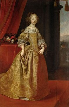 Maria Antonia of Austria - Daughter of Leopold I and Margaret Theresa of Spain. She married Maximilian II Emanuel, Elector of Bavaria, and had one son. 17th Century Fashion, 17th Century Art, Oil Portrait, Female Portrait, Austria, Mode Baroque, Kunsthistorisches Museum Wien, Ludwig Xiv, Maria Teresa