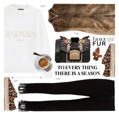 """""""Work Hard, Play Hard: Finals Season"""" by cly88 ❤ liked on Polyvore featuring Balmain, 3x1, Furla and Alexander Wang"""