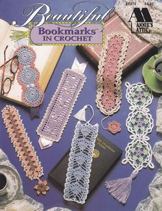 Beautiful Bookmarks Crochet Patterns - 12 Thread Crochet Designs