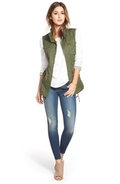 Dear Julia - love this entire casual look. I've been looking for a vest like that for a while.