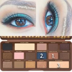 Too Faced Semi Sweet Chocolate Bar eyeshadow tutorial
