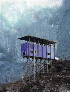 Mining Museum and Cafe in Norway's Allmannajuvet canyon designed Peter Zumthor