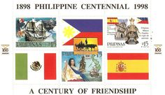 The Philippines was ruled from Mexico City, Mexico under the Spanish territory for 333 years. (1565–1898) Even Mexican cuisine and Mexican Spanish words influences Filipino culture during ruled.