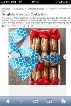Regala sándwich de galletas