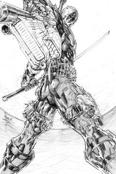 Deadpool by Philip Tan *