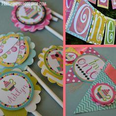 Wonderland Birthday Party Decorations by PartyOnPurposeShop