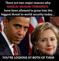 obama hillary terror islam
