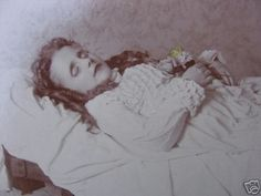 Deceased child. Looks to have been ill for awhile