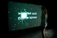 ahnung keine – eine interaktive Projektion