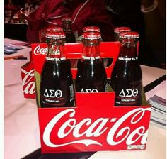 Coca Cola DST Centennial favors.  My two favorite things.