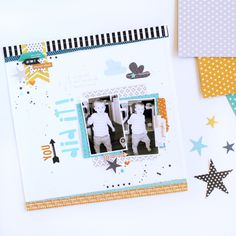 Bella Blvd Oh MY Stars Collection | You Did It Layout by Gail Lindner
