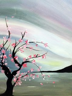 Join us for a Paint Nite event Tue Feb 2014 at Baltimore, MD. Purchase your tickets online to reserve a fun night out! Images D'art, Wine And Canvas, Photo D Art, Decoration Originale, Learn To Paint, Tree Art, Painting Inspiration, Art Pictures, Art Lessons