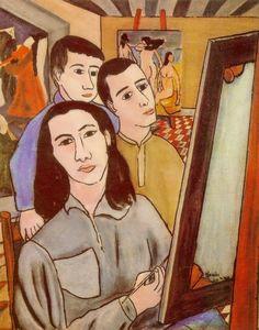 Auto-retrato, 1945  Djanira da Motta e Silva (Brasil, 1914-1979)