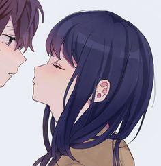 ゆゆ (@hrmy801) | Twitter Anime Neko, Anime Kawaii, Otaku Anime, Manga Anime, Anime Couples Drawings, Anime Couples Manga, Couple Drawings, Cute Couple Art, Anime Love Couple