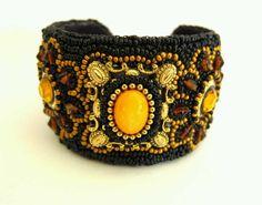 Jeweled Cuff Bracelet.