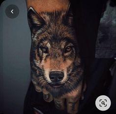 Wolf Eye Tattoo, Wolf Tattoos Men, Wolf Tattoo Sleeve, I Tattoo, Sleeve Tattoos, Hand Tats, Hand Tattoos For Guys, Los Muertos Tattoo, Tatted Men