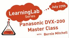 Missed the recent Panasonic DVX200 Master Class with Bernie Mitchell? Chock-full of useful information, it's now available to watch on our Learning Lab Vimeo Channel in two parts: Part 1 at https://vimeo.com/177427290 Part 2 at https://vimeo.com/177544804