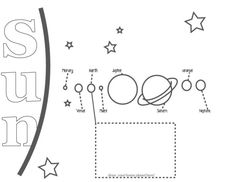 Solar System Coloring Page Solar SystemSpace Pinterest