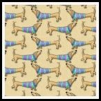 member's free dachshund backing paper pack tan