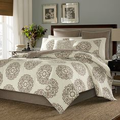 Stone Cottage Medallion Comforter & Duvet Set I just purchased for our room ;)